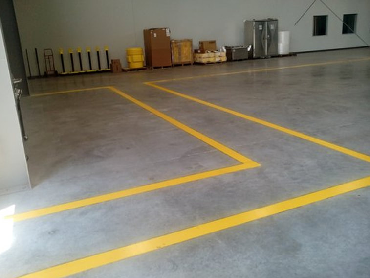 Warehouse Striping Services Mobile, Alabama